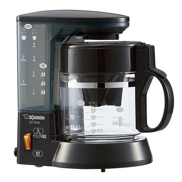 日本必買ZOJIRUSHI象印珈琲通EC-TC40基本款咖啡機淨水四人份540ml