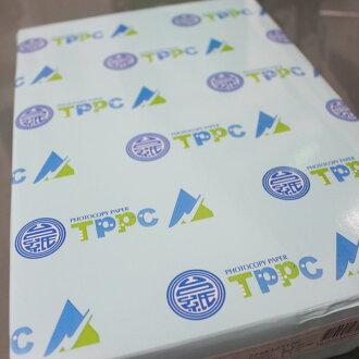 A4影印紙 台紙TPPC影印紙 白色(80磅)加厚210mm x 297mm/一箱10包入(一包500張入)~免運費~