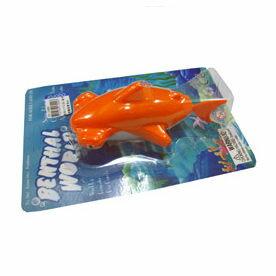 『121婦嬰用品館』亞米兔 發條水中玩具-鯊魚