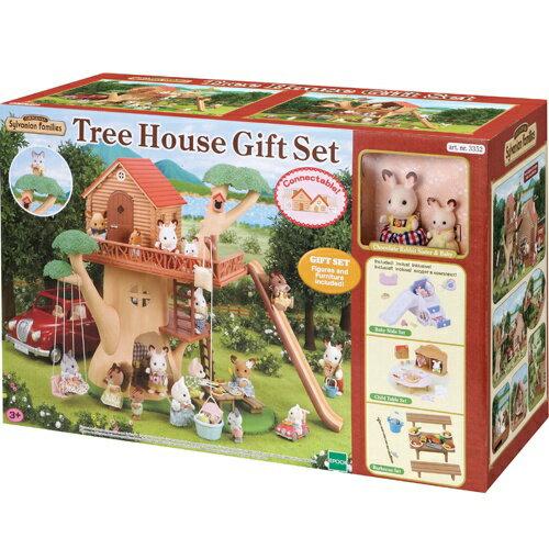 《 森林家族 》三層樹屋禮盒組