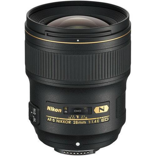 Nikon AF-S NIKKOR 28mm f/1.4E ED Lens 20069 International Version 0