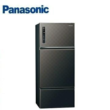 Panasonic 國際牌 NR-C489TV 三門變頻冰箱(481L) (星空黑) ※熱線:07-7428010 - 限時優惠好康折扣