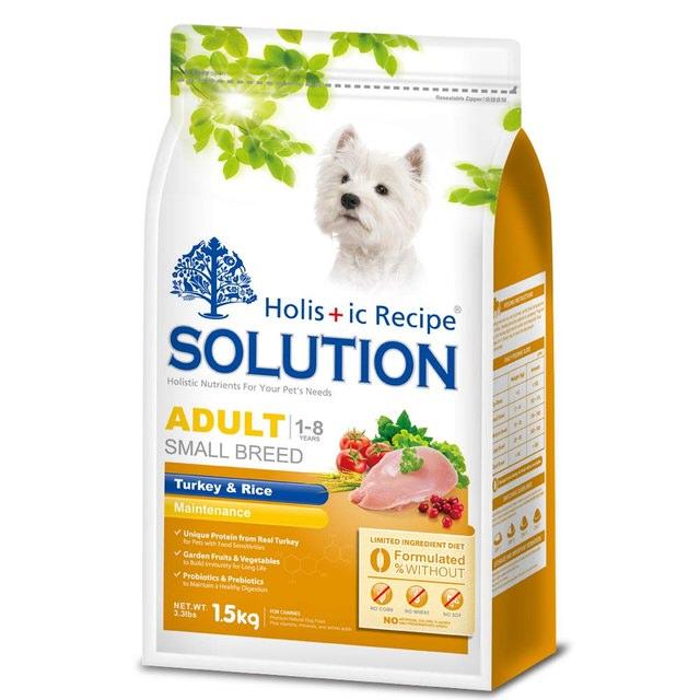 耐吉斯Solution成犬火雞肉+蔬菜【1.5kg】【3kg】