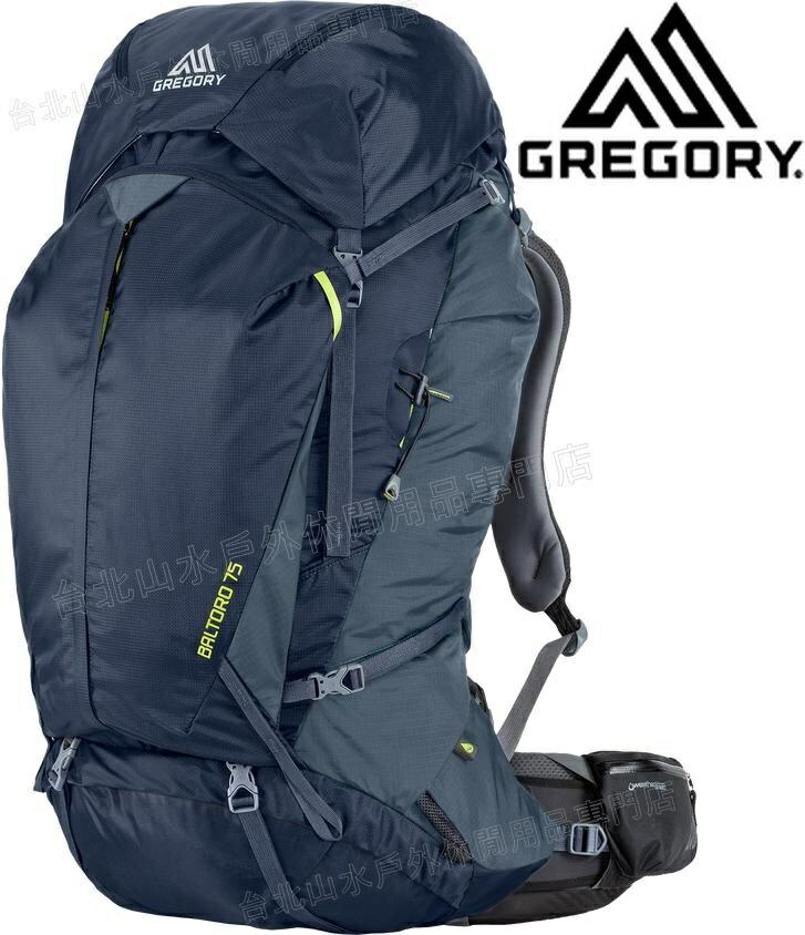 Gregory 後背包/登山背包/背包客/背包/健行 Baltoro 75 專業登山包 65780/65781 1598海軍藍/台北山水