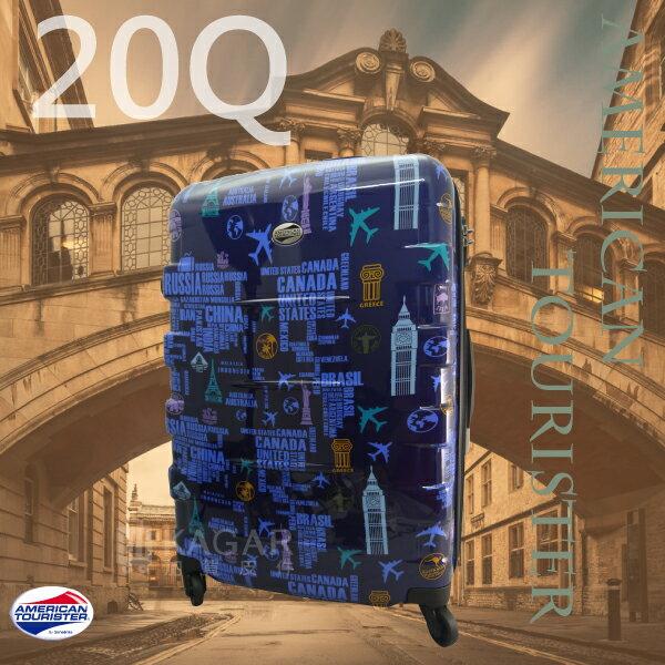 【加賀皮件】AT美國旅行者 27吋 Albert系列 多色 硬殼 行李箱 20Q