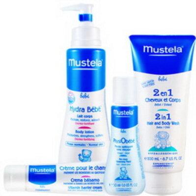 MUSTELA慕之恬廊-嬰兒清潔護膚禮盒