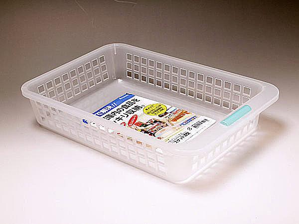 Loxin【SI0204】日本製 冰箱淺型防髒好拿好收整理盒 收納盒 冰箱收納 廚房收納 407