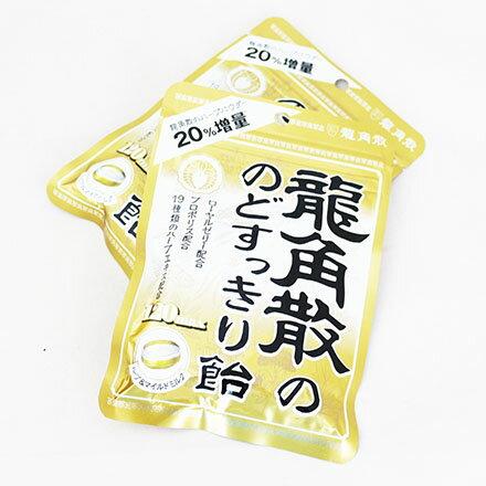 【敵富朗超巿】龍角散 袋裝喉糖-金(88g)賞味期限:2018.08.31
