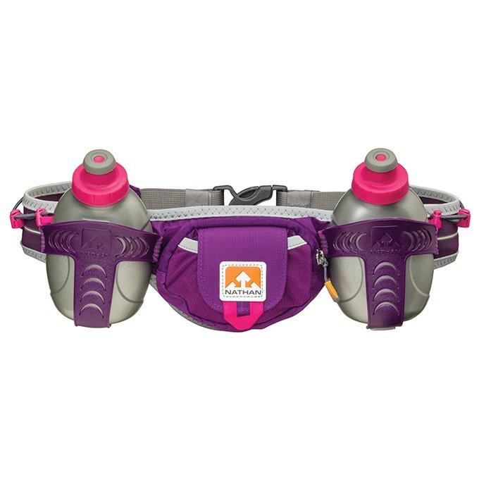 NATHAN Tral Mix雙水壺腰包 (紫色)