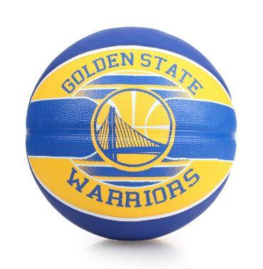 熱銷款🔥SPALDING 斯伯丁 NBA籃球 隊徽 勇士隊 Warriors 籃球 7號 -SPA83515 [陽光樂活]