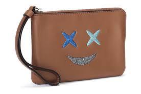 【COACH】季節限定表情豹紋皮革手拿包(2色)【全店免運】ARIBOBO艾莉波波