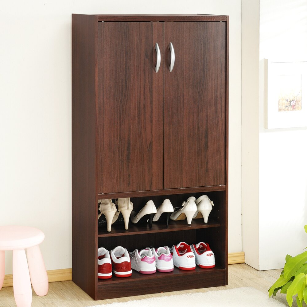 《HOPMA》雙門六格鞋櫃 1