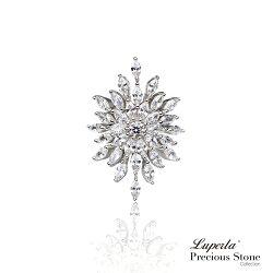 大東山珠寶 璀璨星光 璀璨晶鑽純銀戒指