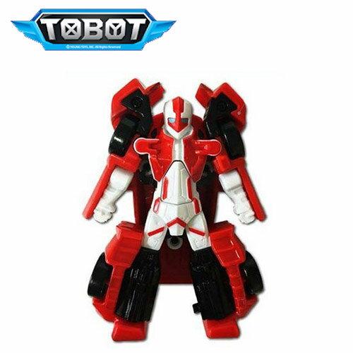 ALPHA(紅)【韓國正版】TOBOT迷你機器戰士ALPHA機器人玩具YOUNGTOYS-010626