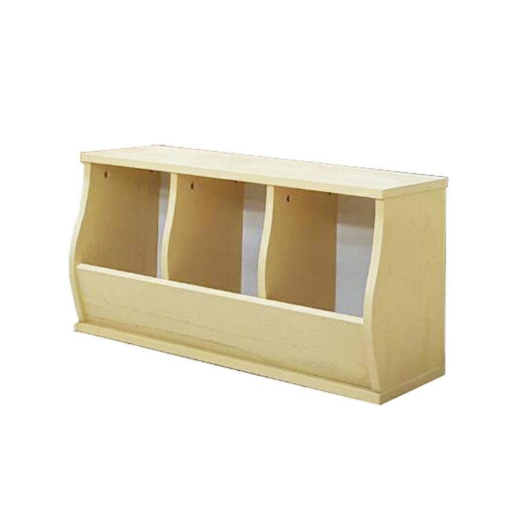 免運費~(3格)DIY質感斜取式造型收納櫃 / 可堆疊收納櫃 / 格櫃 / 斜櫃 / 置物櫃 / 置物盒~ 寬80.5*深30.5*高41公分  #樂創木工# 1