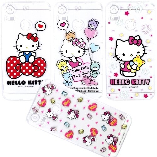 【Hello Kitty】HTC Desire 10 Pro 5.5吋 彩繪空壓手機殼