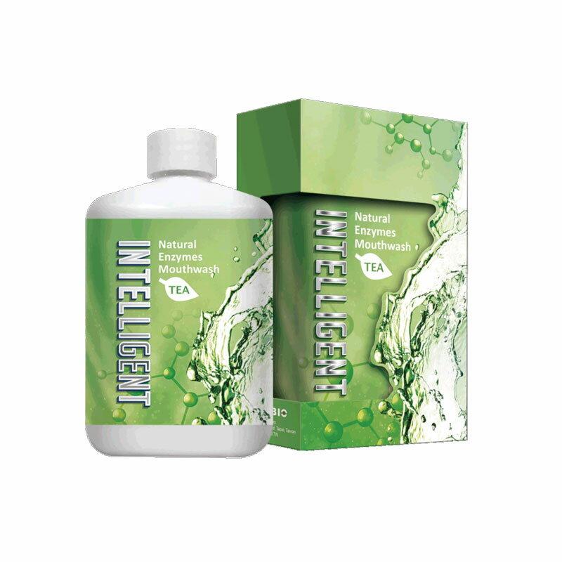 (3入超值組)  Intelligent 因特力淨 酵素漱口水 300c.c.X3罐 (清新茶香) 專品藥局【2013857】