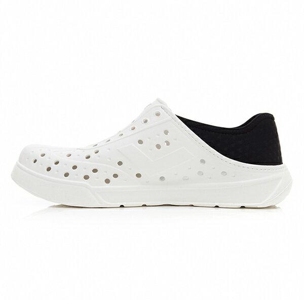 《2019新款》Shoestw【92U1SA02BK】PONY Enjoy 洞洞鞋 水鞋 海灘鞋 可踩跟 懶人拖 菱格紋 白黑 男女尺寸都有 2