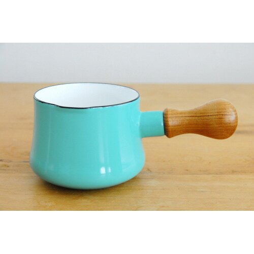 DANSK 琺瑯牛奶鍋 550ml 水藍色