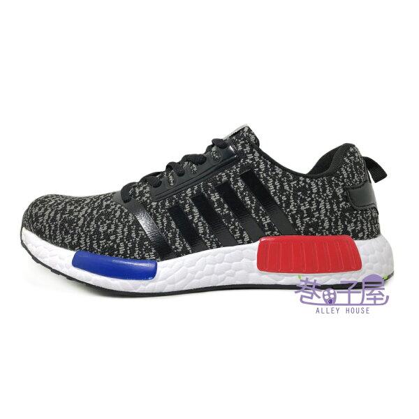 【巷子屋】JimmyPoLo男款造型編織運動慢跑鞋[68059]灰超值價$298