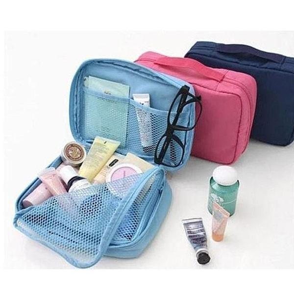 ♚MY COLOR♚小飛機 旅遊旅行化妝包 收納包 旅行組 防水收納袋 包中包卡包 文具袋【B04】