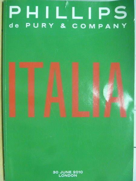 ~書寶 書T6/藝術_YJV~ITALIA_Phillips_30 June 2010 L