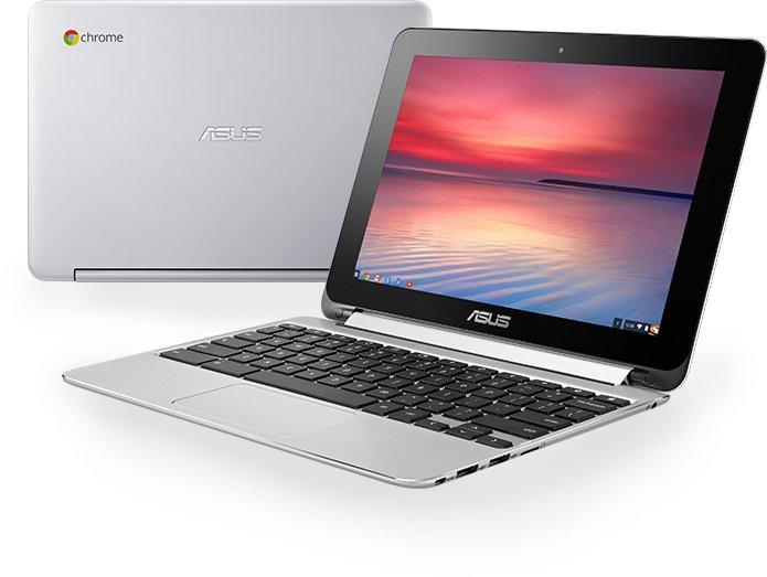 ASUS Chromebook Flip 10.1吋 DDR3 4G 開會 休閒 變形觸控輕薄筆電C100PA