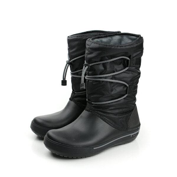 Crocs 靴子 黑 女款 no279