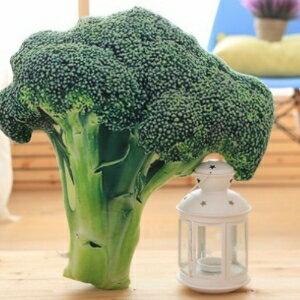 美麗大街【105122146】花椰菜 創意仿真水果蔬菜沙發抱枕靠墊