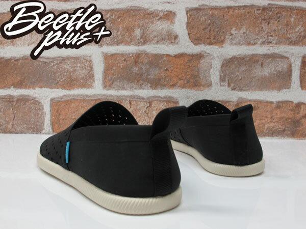 《限時6折免運》BEETLE PLUS NATIVE VENICE JIFFY BLACK 維納斯 黑白 洞洞鞋 休閒鞋 懶人鞋 2