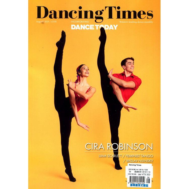 Dancing Times 8月號_2019 | 拾書所