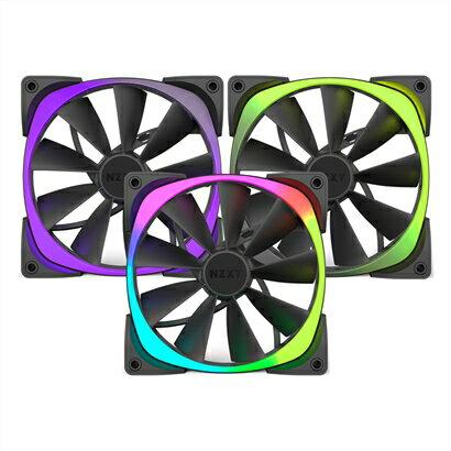 NZXT恩傑AerRGBSeries風扇-140mmTriplePack(三顆)PC散熱風扇電腦散熱風扇電腦風扇【迪特軍】