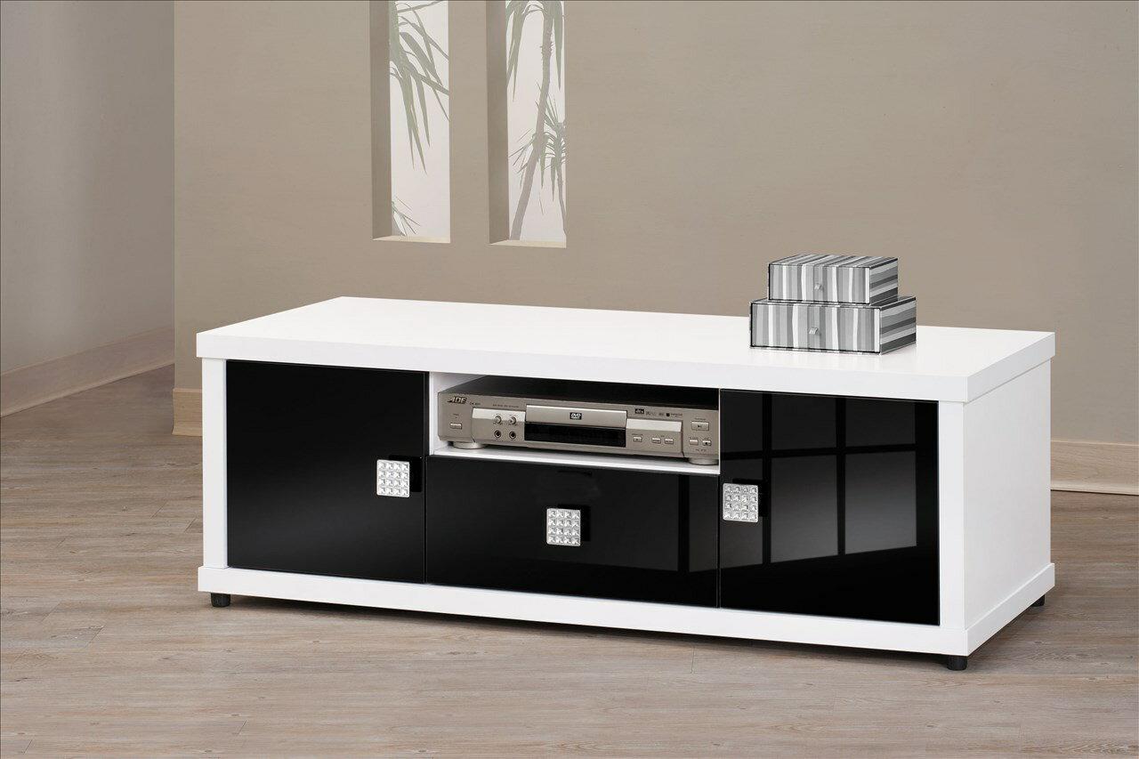 【石川家居】EF-241-3 米蘭白色4尺長櫃 電視櫃 (不含其他商品) 需搭配車趟