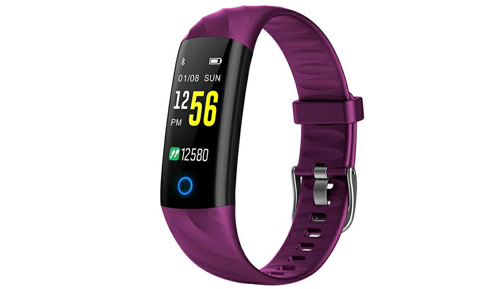 JYouPro S5 0.96'' Color Screen IP68 Waterproof Smart Bracelet Heart Rate/Blood Pressure/Oxygen Monitor Fitness Tracker w/ Night Run Breathing Light 0