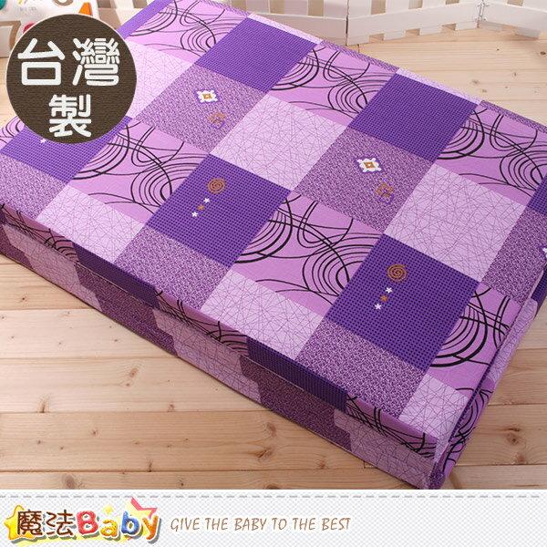 台灣製單人3x6尺雙面布透氣床墊 魔法Baby~u2315