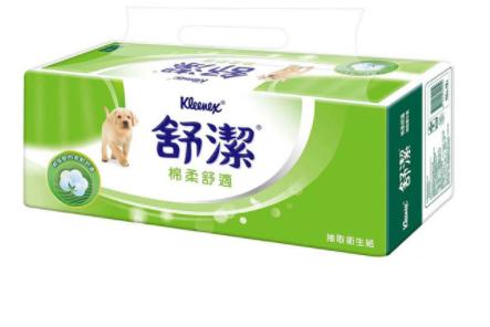 【舒潔】棉柔舒適抽取衛生紙110抽72包/110抽60包