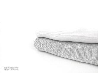 THE DOT PETITE中韓時尚童裝 男童上衣 白/灰色挖背全棉背心兩件組/上衣/T恤