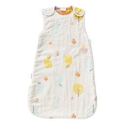 奇哥 Joie 快樂森林六層紗兩用防踢睡袍 (M:適穿18個月以上) TLC60418C 【紫貝殼】