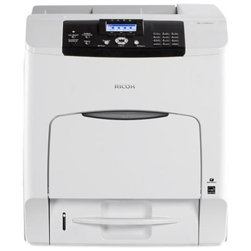 """Ricoh SP C440DN Laser Printer - Color - 1200 x 1200 dpi Print - Plain Paper Print - Desktop - 42 ppm Mono / 42 ppm Color Print - A4, A6, A5, B5, B6, Legal, Letter, Half-letter, Executive, Government Letter, Foolscap, ... - 8.30"""", 4.10"""", 5.80"""", 6.90"""", 4.90"""