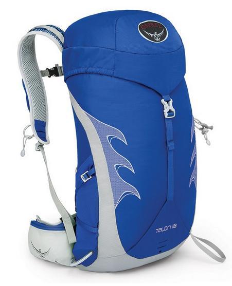 【【蘋果戶外】】Osprey 014618-628 Talon 18 藍 現貨 魔爪系列 輕量健行背包 休閒背包 登山背包 自助旅行 出國打工度假