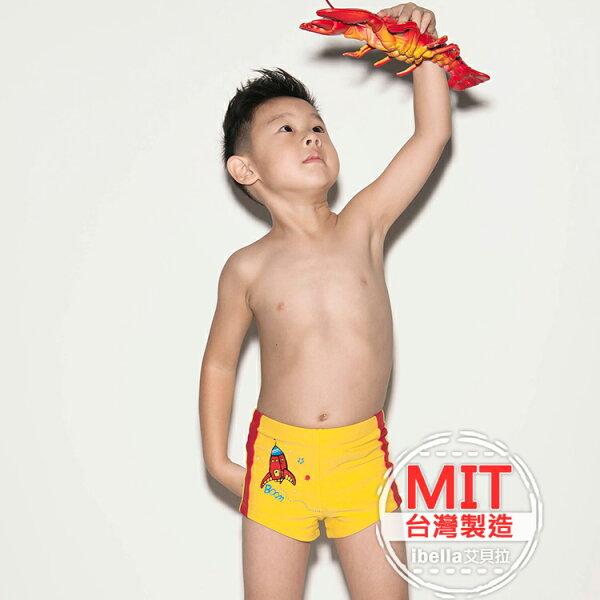 男童卡通圖案泳褲MIT台灣製造美國杜邦萊卡【36-66-818903-18】ibella艾貝拉