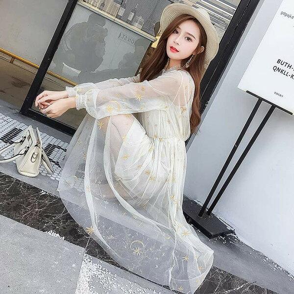 二件式鏤空網紗洋裝小禮服【67-16-83301-18】ibella艾貝拉