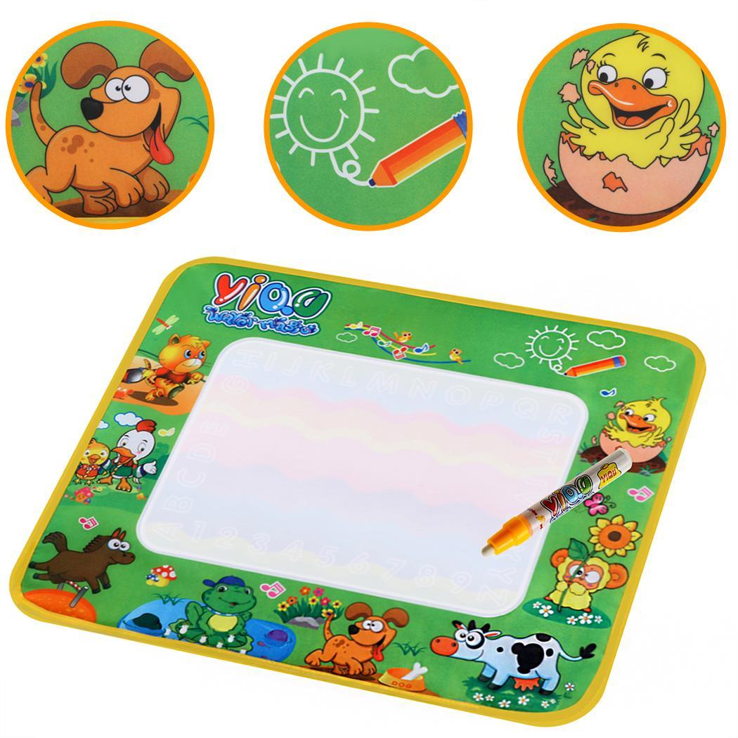 Multicolor Writing Cloth Mat with A Pen to Fill in Water 4