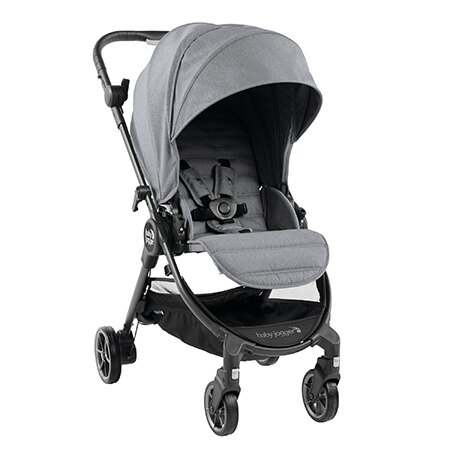 【淘氣寶寶】美國 baby jogger city tour Lux 單人手推車(淡雅灰) 贈收納背袋 - 限時優惠好康折扣