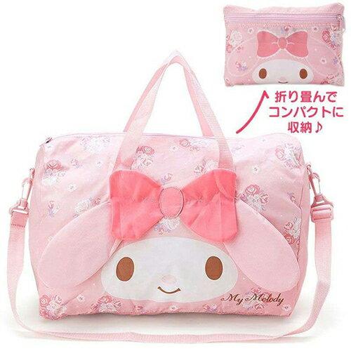 **518~521加1元多1件**旅行包可愛卡通圖樣可折疊旅行收納包肩背包手提包