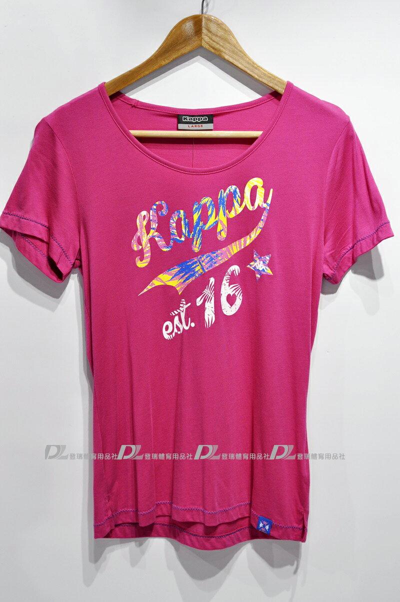【登瑞體育】KAPPA 女款短袖上衣 FA52F4521