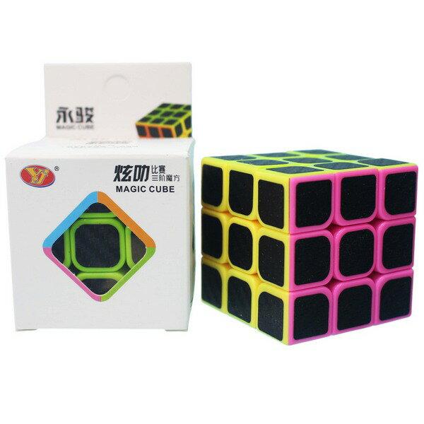 炫樂三階魔術方塊 (防滑5.7cm)YJ8360 / 一個入 { 定100 }  永駿三階魔方 3x3x3 比賽專用魔方~鑫 0