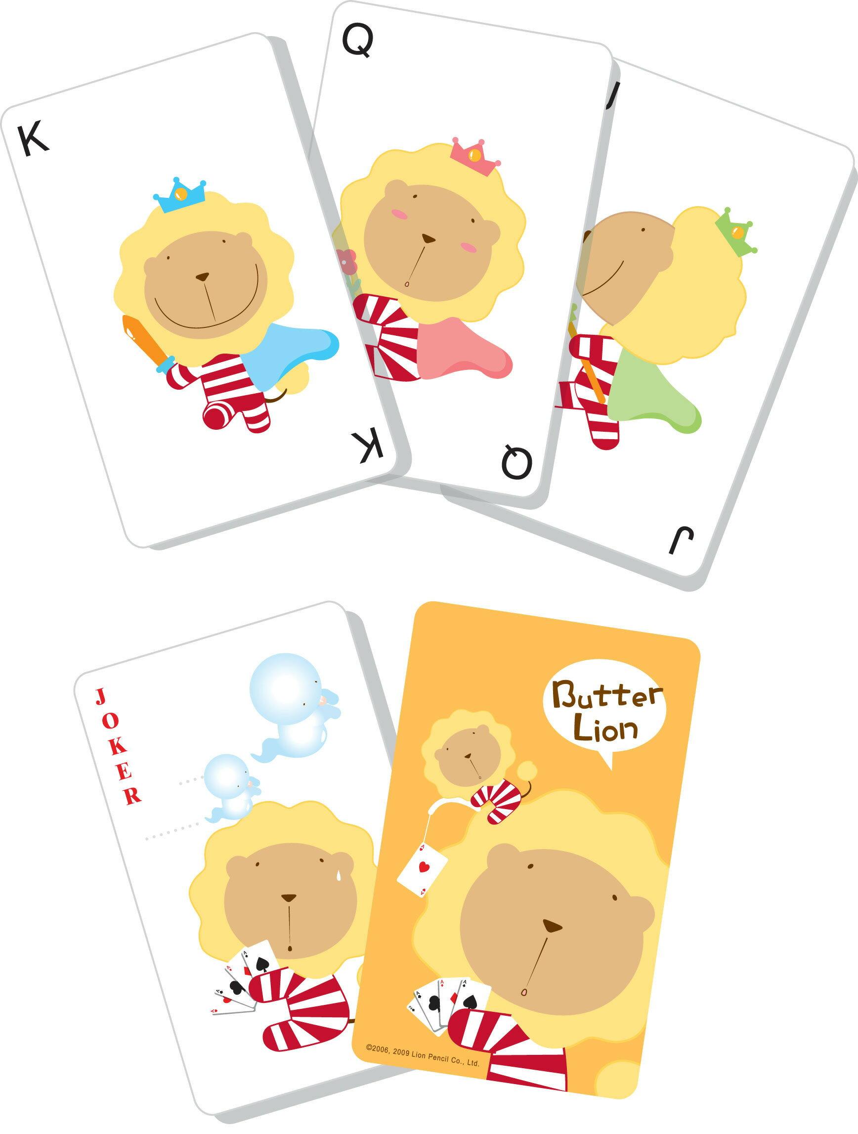 奶油獅 PK-001 紙製撲克牌