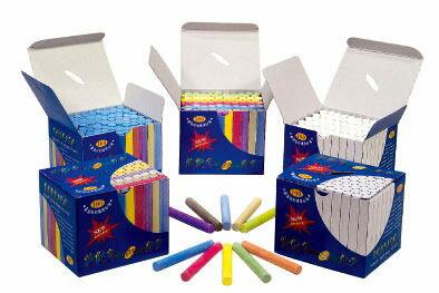 波爾多彩色粉筆100支/16盒/箱