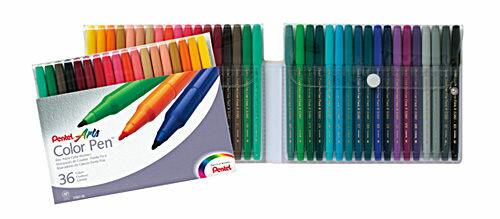 Pentel 飛龍S360~36細字彩色筆36色組